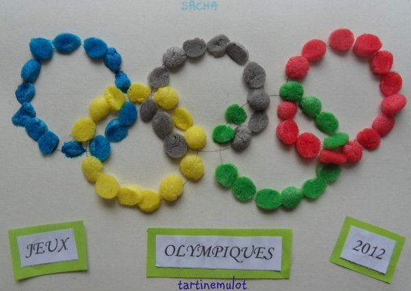 activite manuelle jeux olympiques