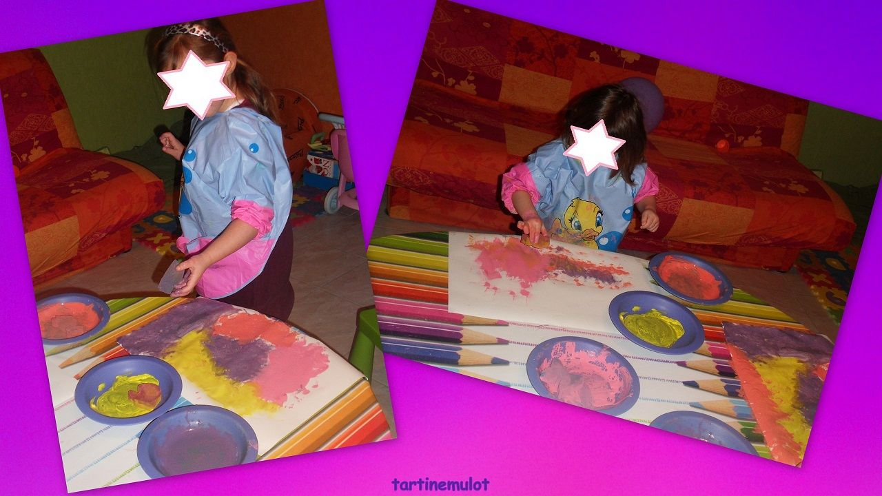 Peinture page 2 for Peindre a l eponge