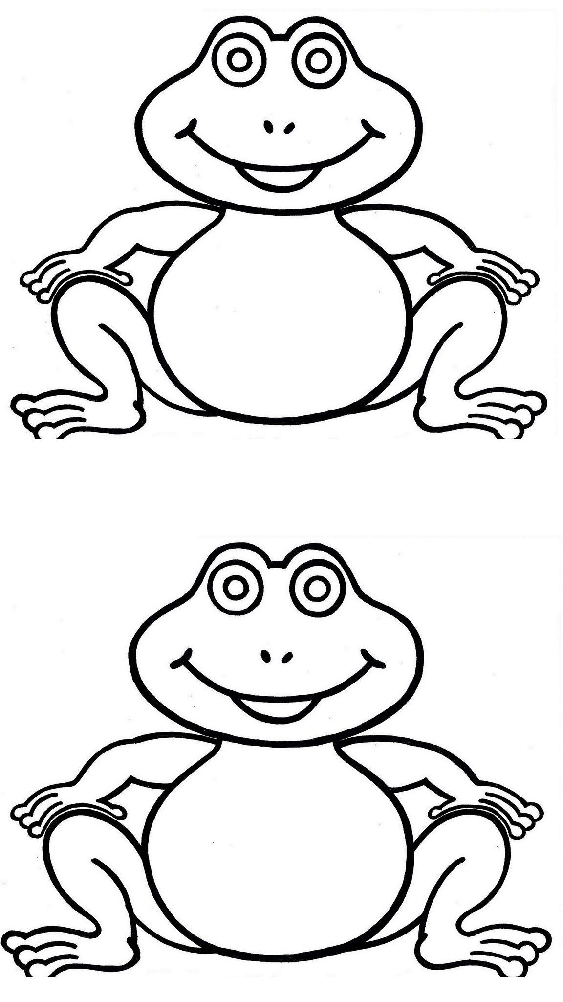 Mod le coloriage grenouille - Grenouille coloriage ...